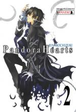 Okładka Pandora Hearts tom 2